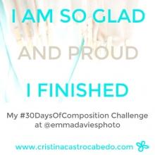 ¡Qué contenta estoy de haber completado el reto!