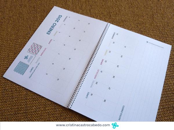 Calendario 2015 imprimible