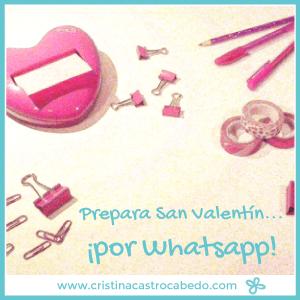Prepara San Valentín… ¡por Whatsapp!