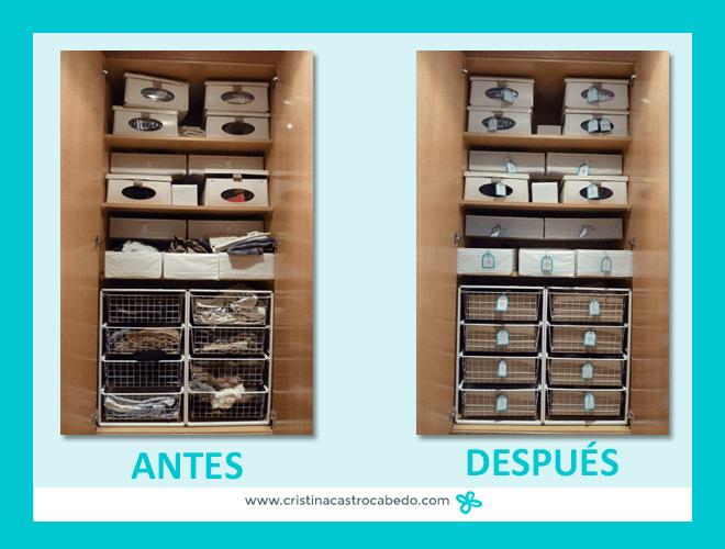 Descarga las 24 etiquetas imprimibles para ordenar toda tu - Ordenar armarios ropa ...