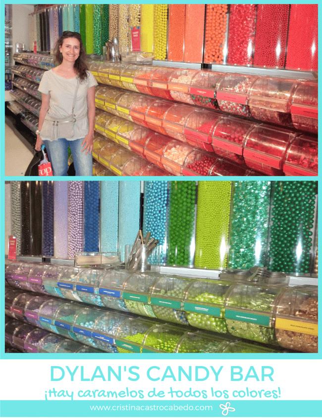 Lo que más me gusta es todo el colorido que hay por toda la tienda Dylan's Candy Bar de New York