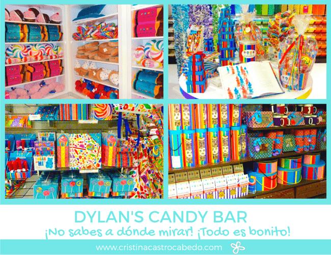 Juguetes, golosinas, chocolate, adornos, hay de todo en la tienda Dylan's Candy Bar de New York.