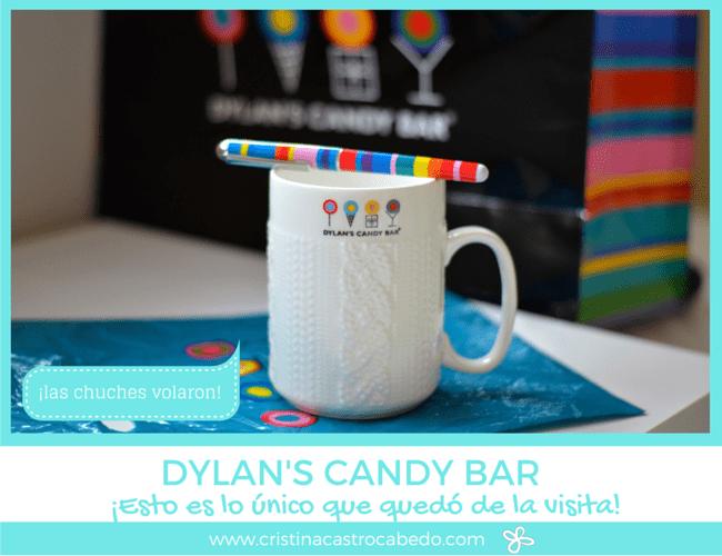 Esto ha sido lo único que ha quedado de nuestra visita a la tienda de dulces Dylan's Candy Bar en New York.