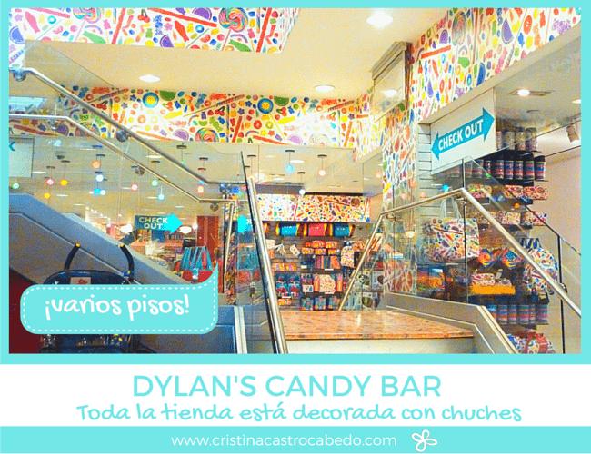 Dos pisos llenos de dulces y regalos en Dylan's Candy Bar, además de la sala de celebraciones.