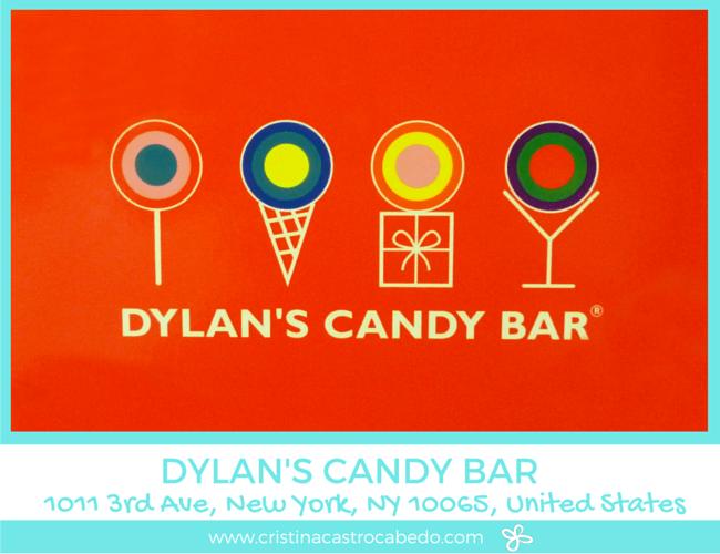 Dylan's Candy Bar es posiblemente la tienda de chuches más bonita que he visto