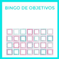 Juega al bingo de objetivos para conseguir tus retos