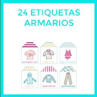 24 etiquetas para ordenar tu ropa
