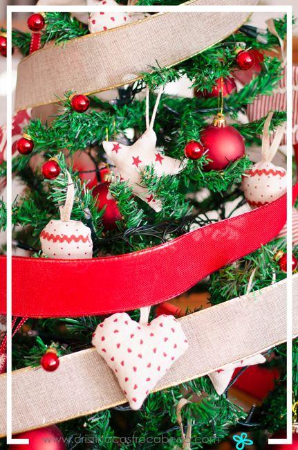 Adornos para el árbol de Navidad que puedes hacer tú misma