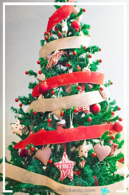 Decora tu árbol de Navidad con estos adornos hechos a mano