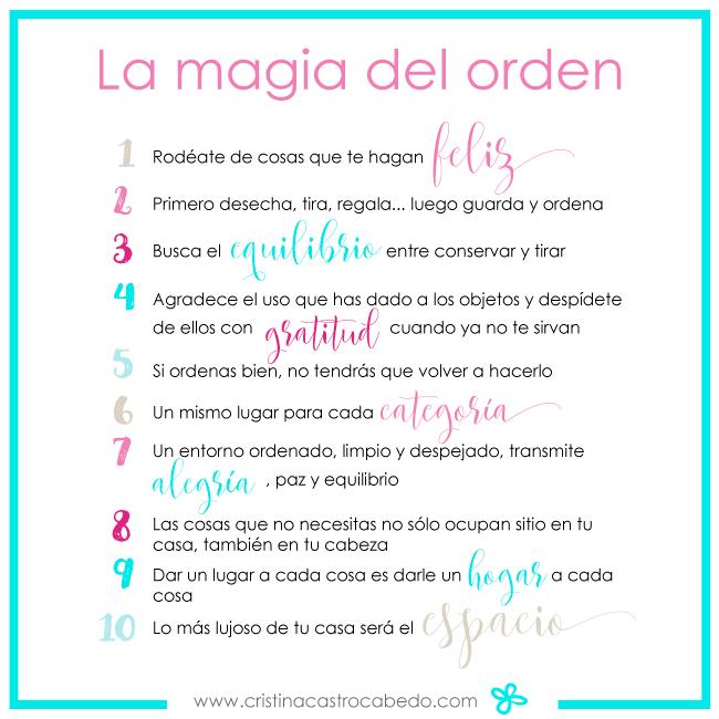 la magia del orden 10 ideas para ordenar tu casa y tu vida On la magia del orden pdf