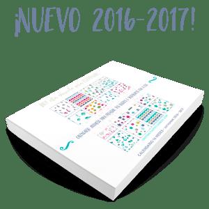 Nuevo calendario escolar 2016-2017 con descarga gratuita temporalmente