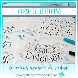 Cómo aprender y mejorar tu lettering en 6 semanas