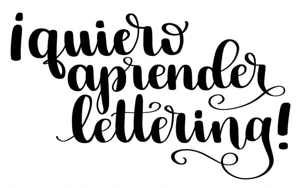 Curso Brush Lettering Cristina Castro Cabedo