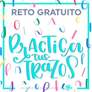 Brush Lettering: Aprende los Trazos Básicos con este reto gratuito