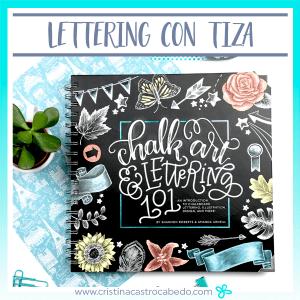 Descubre en el vídeo cómo es por dentro este libro para aprender lettering con tiza.
