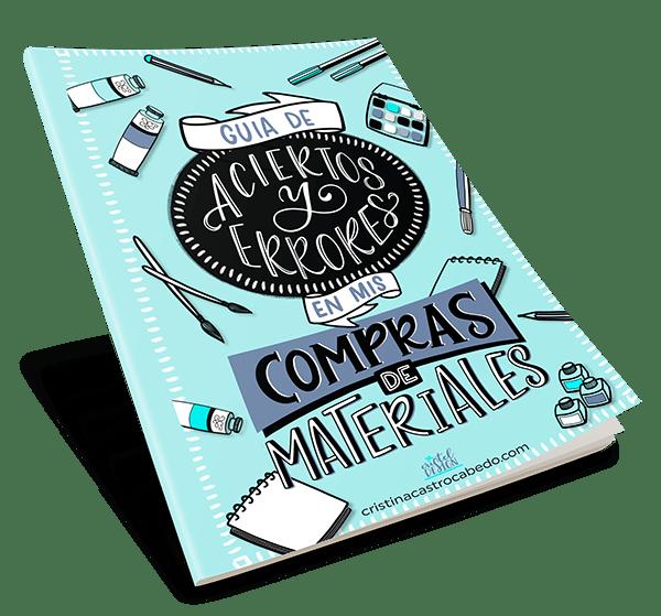 Guia gratuita para acertar con la compra de tus materiales de Brush Lettering - Cristel Design