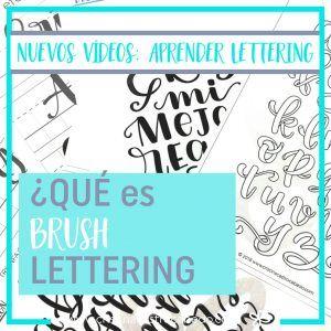 Aprender Lettering: Nueva Serie de Vídeos Ideal para principiantes. 1. ¿Qué es Brush Lettering?