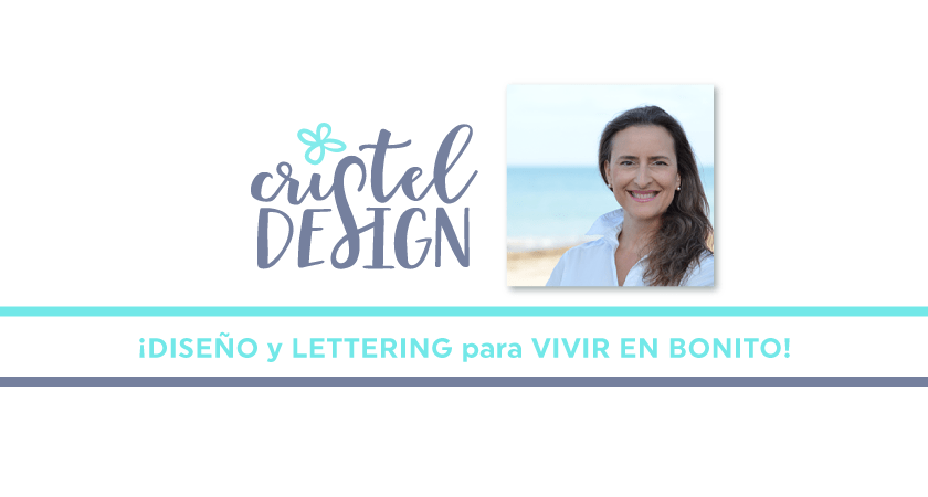 aprender lettering con curso y plantillas - Cristel Design
