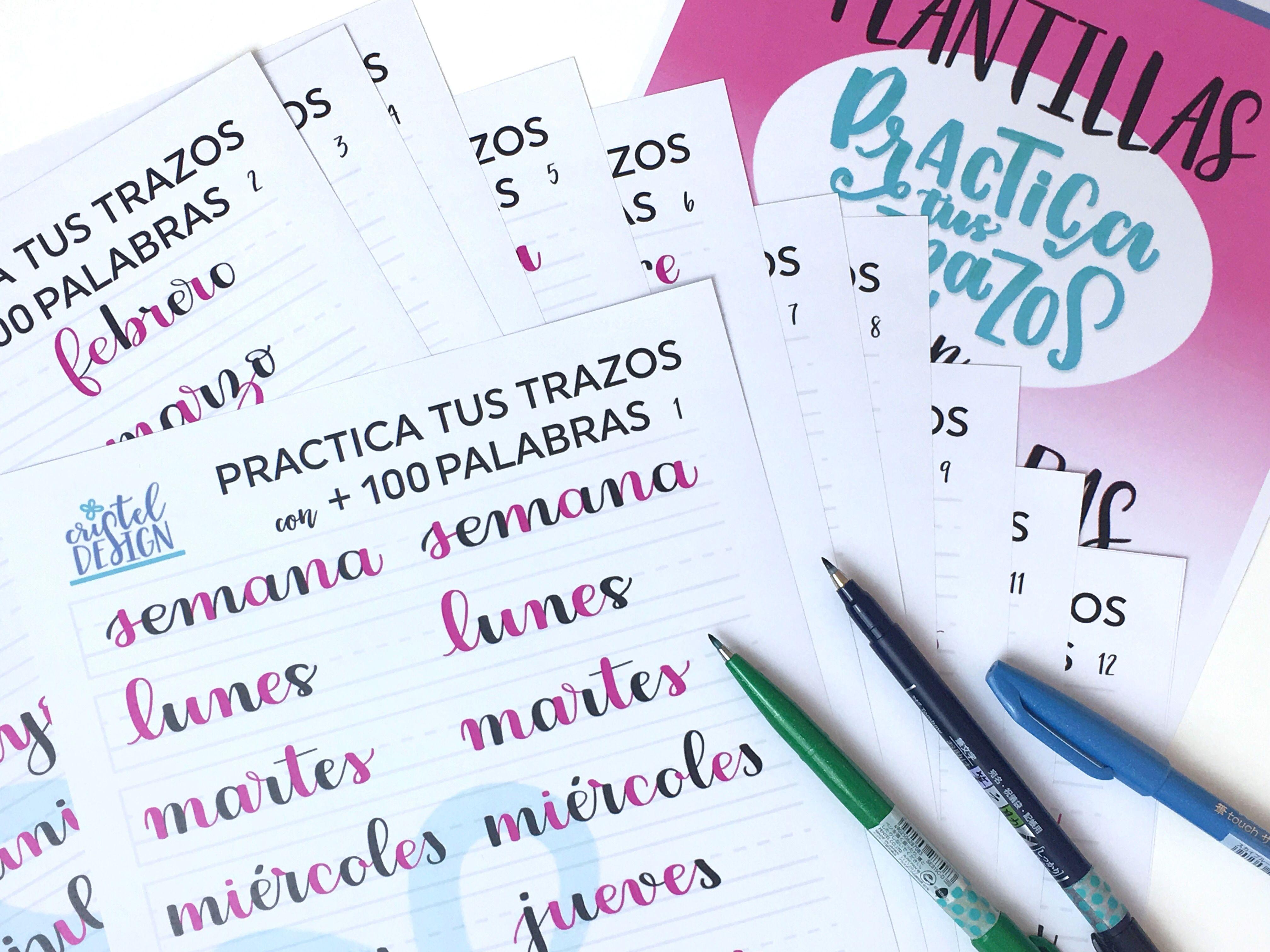 Plantillas para unir las letras