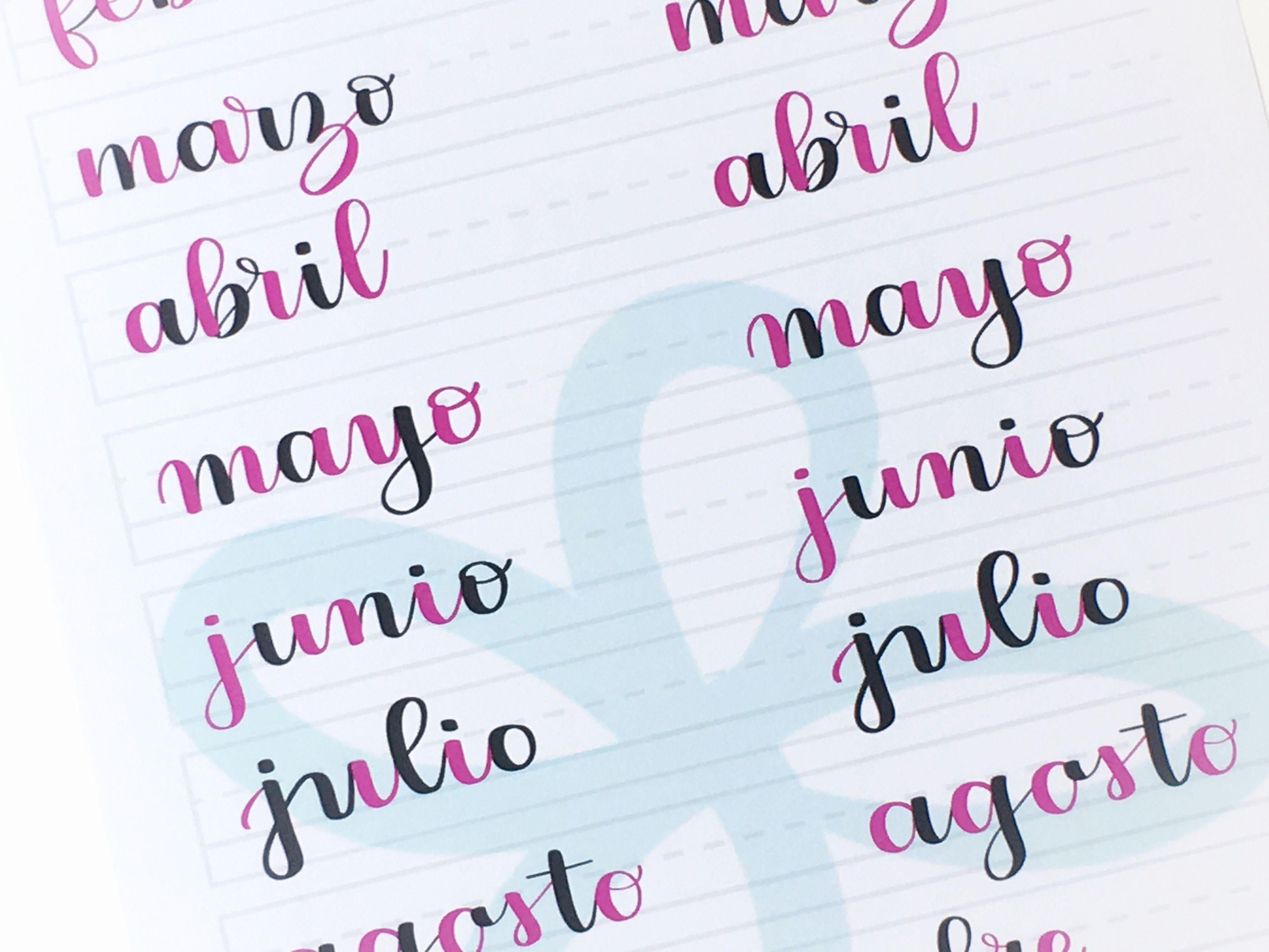 Unir las letras trazo a trazo
