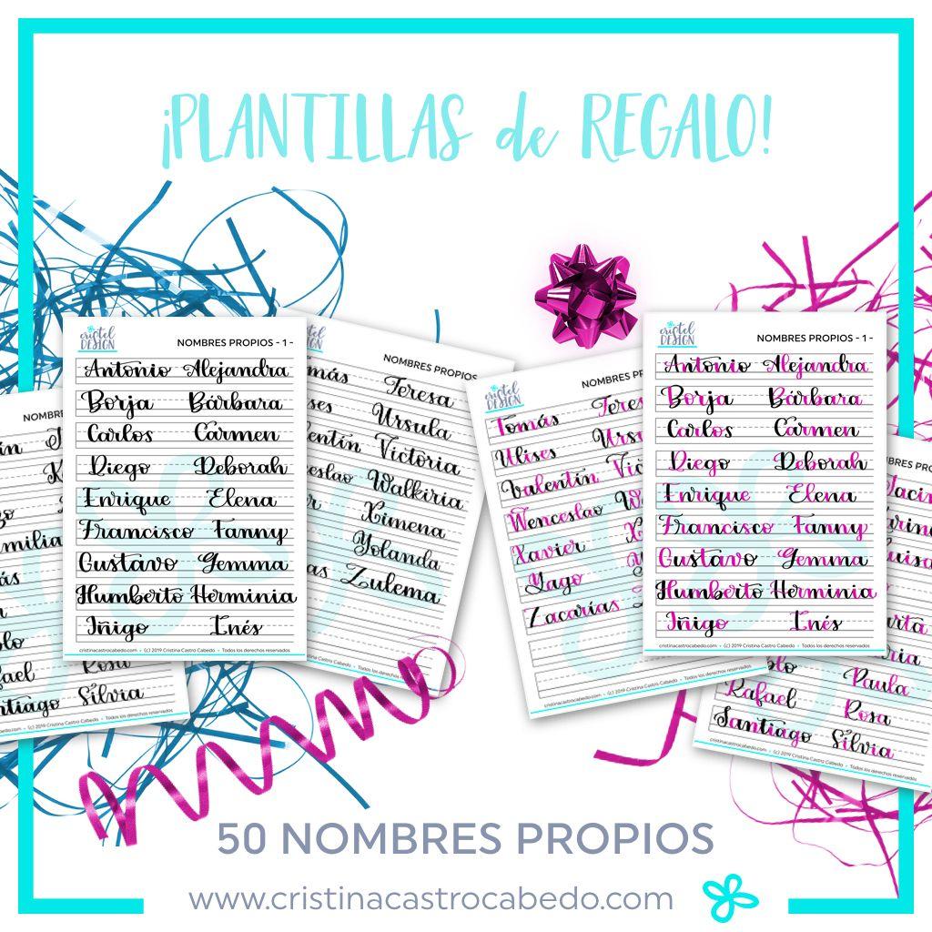 Plantillas con Nombres Propios