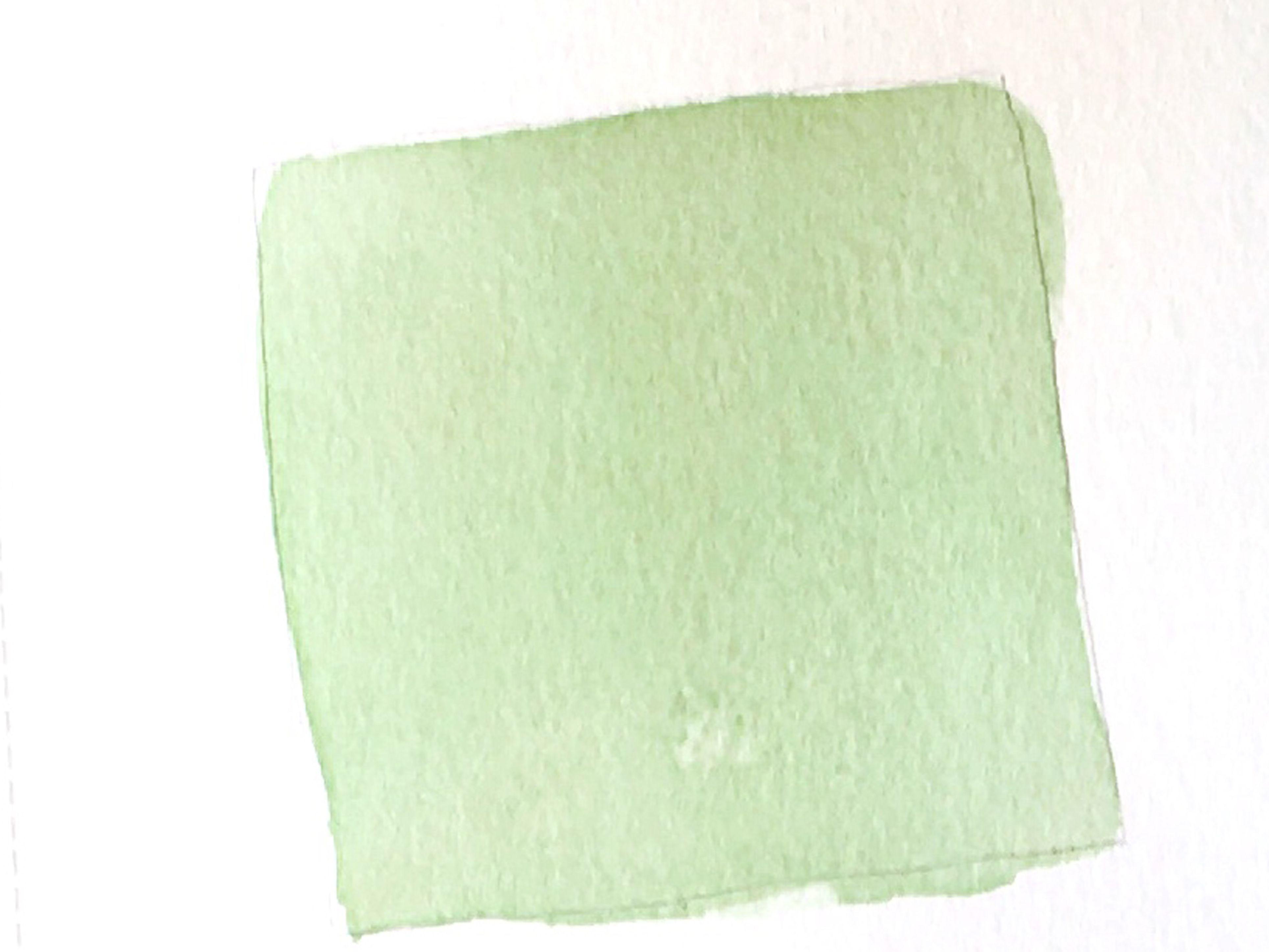 Recuadro de Acuarela de color verde sólido