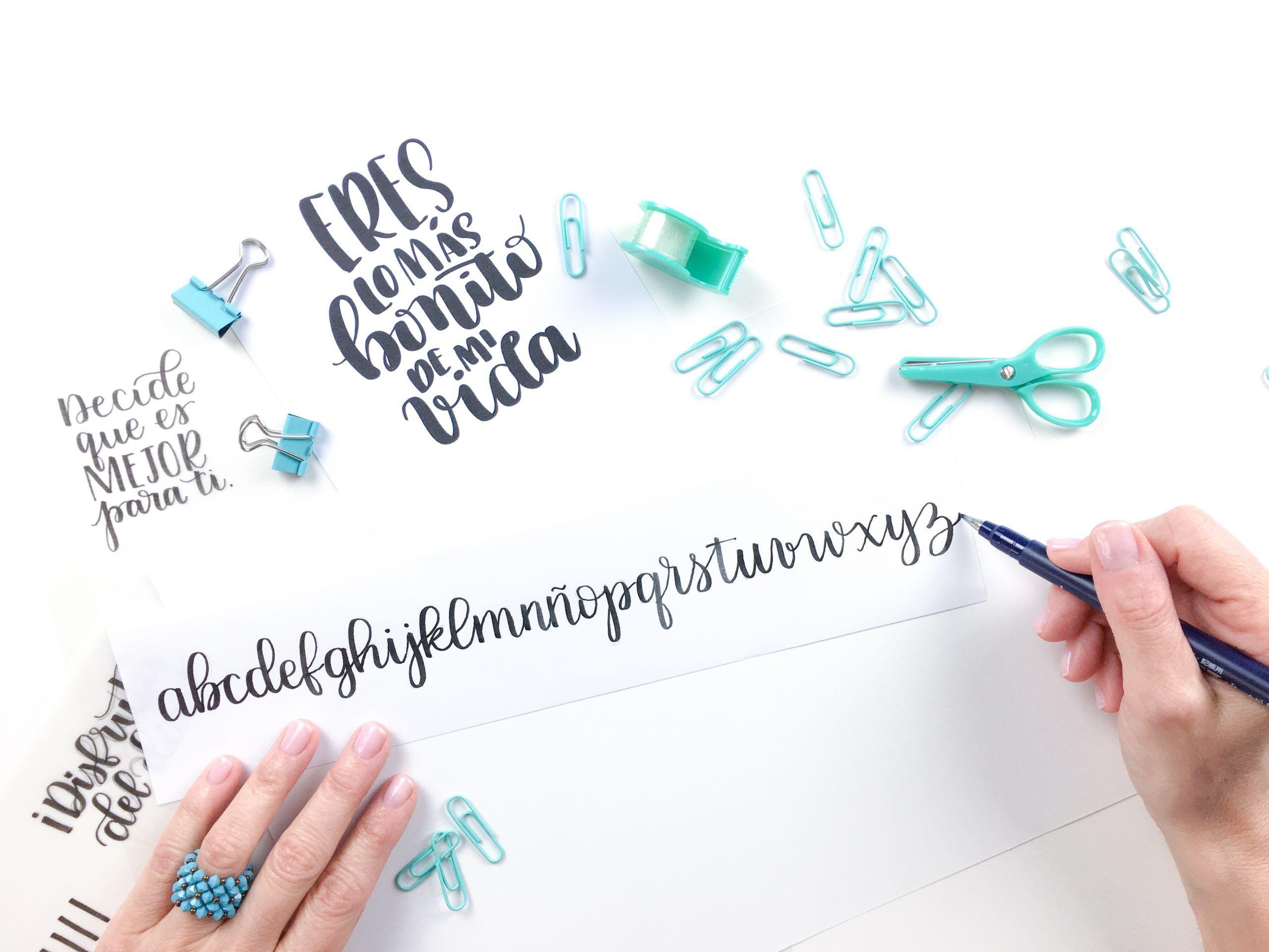 Aprende Brush Lettering