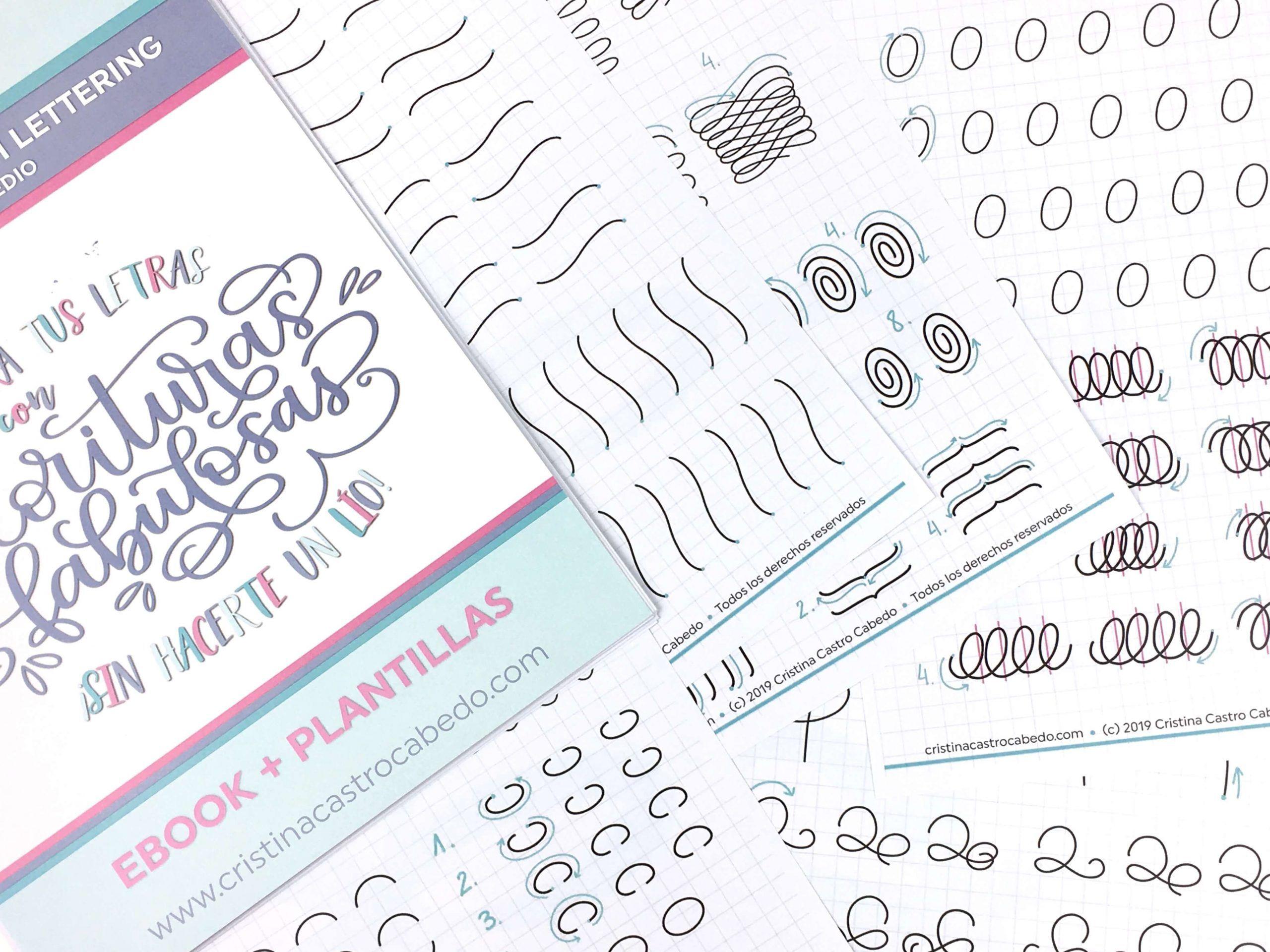 curso-florituras-lettering-plantillas-trazos-cristel-design