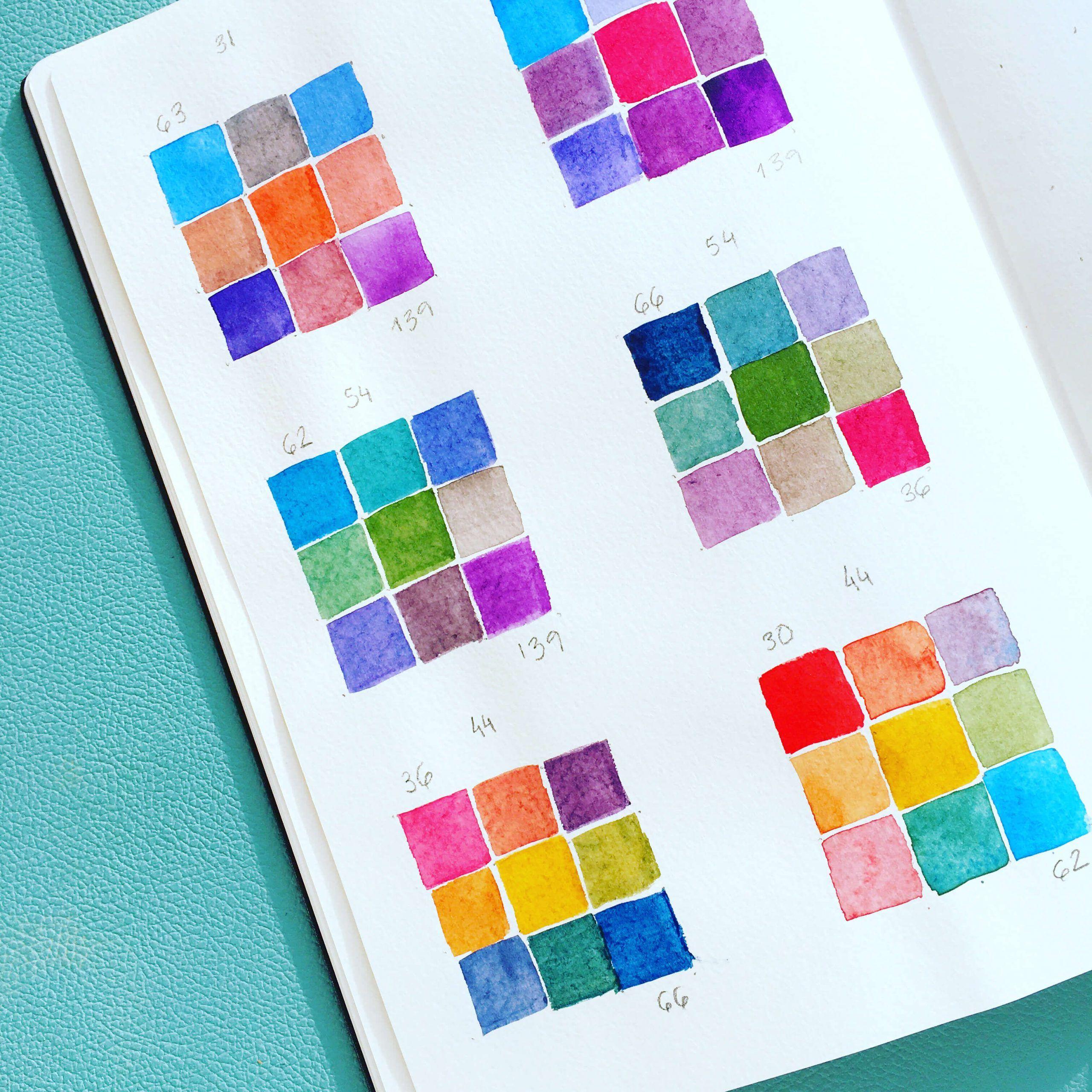combina-colores-de-acuarela-principiantes