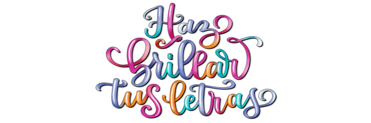 curso online haz brillar tus letras